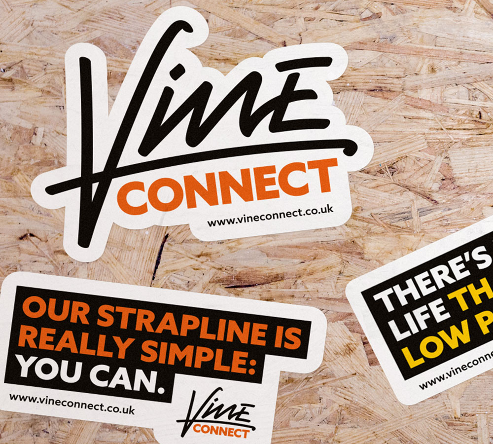 Branding for Social Enterprise, Vine Connect.